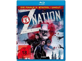 Z Nation-Staffel 5 (4 DVDS Uncut-Edition) - (Blu-ray)
