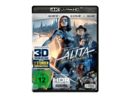 Alita - Battle Angel (4K Ultra HD) (+ Blu-ray 3D) (+ Blu-ray 2D) - (Blu-ray)
