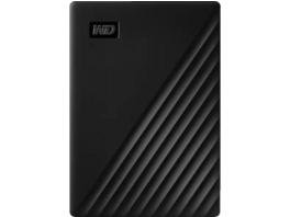 WD My Passport™ 5 TB Schwarz , 5 TB HDD, 2.5 Zoll, extern