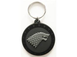 EMPIRE Game of Thrones  - Stark  - Gummi Schlüsselanhänger Schlüsselanhänger, Mehrfarbig