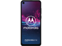 MOTOROLA One Action, Smartphone, 128 GB, Denim Blau, Dual SIM