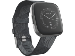 FITBIT Versa 2 (NFC) Special Edition, Smartwatch, Gewebe, S, L, Smoke Woven