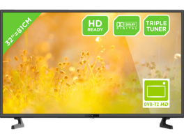 OK. ODL 32653HS-TB, 81 cm (32 Zoll), HD-ready, LED TV, DVB-T2 HD, DVB-C, DVB-S, DVB-S2