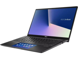 ASUS ZenBooK Flip 14 UX463FL-AI068T, Notebook mit 14 Zoll Display, i7-10510U Prozessor, 8 GB RAM, 1 TB SSD, GeForce MX250, Gun Grey