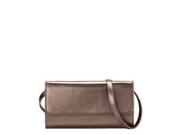 Formstabile Clutch - Basic Metallic Samantha