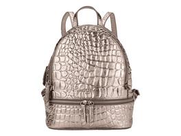 Rucksack mit Krokoprägung - Ally Metallic Backpack M