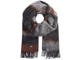 Schal mit Farbverlauf aus edlem Wollmix