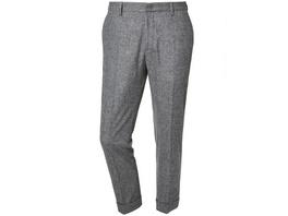 Woll-Stretch-Hosemit Umschlag - Regular Fit Theo