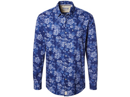 Hemd mit Blumenprint - Modern Fit