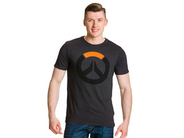 Overwatch - XL Logo T-Shirt grau