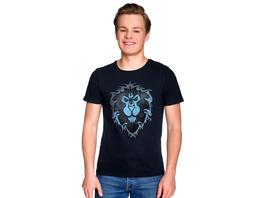 World of Warcraft - Alliance Logo T-Shirt blau