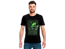 Stephen Kings ES - Come Home Glow in the Dark T-Shirt schwarz
