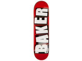 "Brand Logo White 8.0"" Skate Deck"