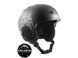 X Blue Tomato Gravity Solid Color Helmet