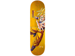 "X Dragon Ball Z 8.5"" Rodriguez Super Sajyan Goku Skateboard Deck"