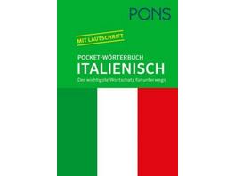 PONS Pocket-Wörterbuch Italienisch