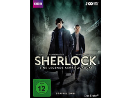 Sherlock - Staffel 2  [2 DVDs]
