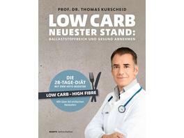 Low Carb – Neuester Stand: mit Low Carb HiFi ballaststoffreich und gesund abnehmen