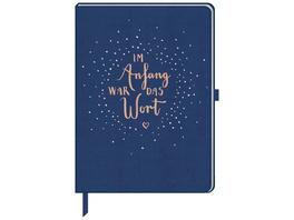 Notizbuch - Im Anfang war das Wort