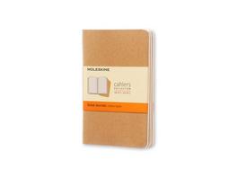 Moleskine Cahier, 3er Set, Pocket/A6, Liniert