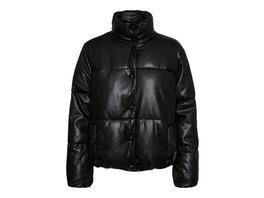 Vero Moda Reguläre Passform  Beschichtete Jacke mit hohem Kragen