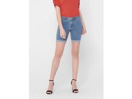 ONLY Verschluss vorn Lange Jeansshorts mit Regular Waist