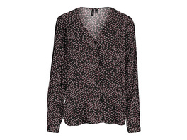 Vero Moda Reguläre Passform  Bedruckte Bluse