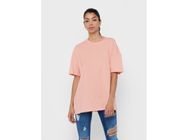 ONLY Einfarbig T-Shirt in Oversize-Passform