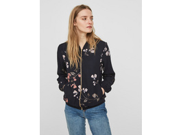 Vero Moda Reißverschluss vorn Bomberjacke mit Blumenprint