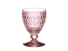 Boston coloured Rotweinglas rose