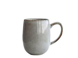 Kaffeebecher mit Henkel Amera grau