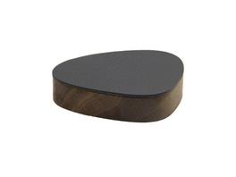 Holzbox mit Lederdeckel CURVE