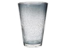 Trinkglas Bubble grau 40cl